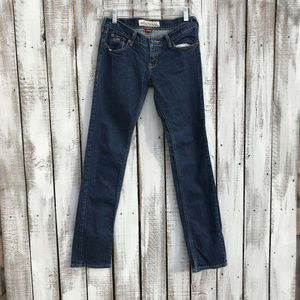 Hollister Dark Wash Skinny Low-Rise Jeans 1S